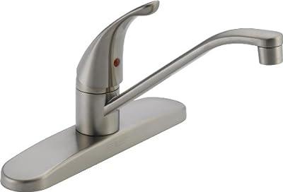 """Single Handle 9.25"""" Kitchen Faucet"""