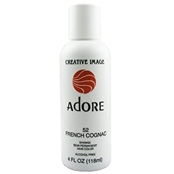 Amazoncom Adore Creative Image Hair Color 52 French Cognac