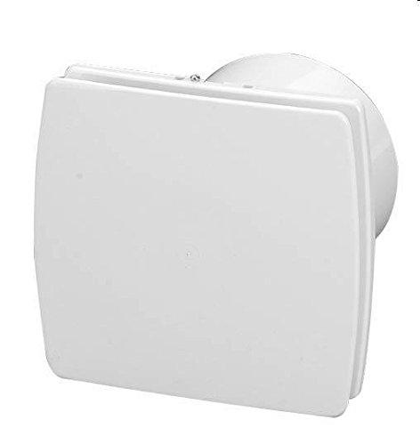 aspiratore elettrico estetico bianco diametro 100 per bagni e cucine