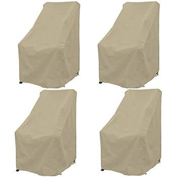 Amazon Com Premium Tight Weave Patio Hi Back Chair