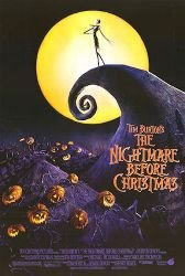 (27x40) The Nightmare Before Christmas - Jack on Cliff, Pumpkins MoviePoster