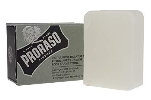 Proraso Post-Shave Stone, Natural Alum Block, 0.26 (Alum Block Natural)