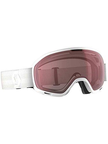 Scott - Masque De Ski/snow Unlimited Ii Otg White Amplifier - Mixte - Taille Unique - Blanc