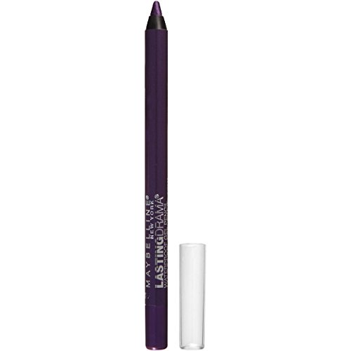Maybelline New York Eyestudio Lasting Drama Waterproof Gel Pencil, Polished Amethyst, 0.038 - Plum Amethyst