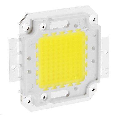 HJLHYL DIY 80W 6350-6400LM 2400mA 6000-6500K Cool White Light Integrated LED Module - 80w 30v Lamp