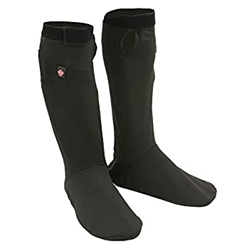 Image of Athletic Socks Milwaukee Leather Sock Liner men's With Top & Bottom Of Feet Heating Elements (BLACK, XS)