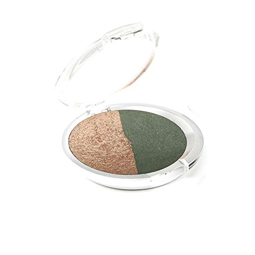 Ageless Derma Creamy Mineral Baked Eyeshadow Duo-Vegan Eye shadow - Eye Mineral Kit Shadow