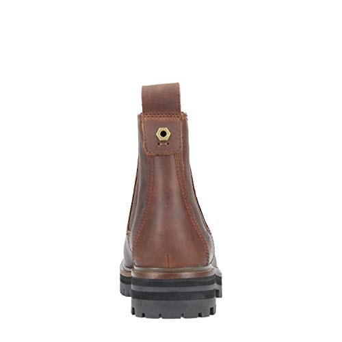 Chelse London Boots Square Timberland Black Jet Marron qaEBnwpx
