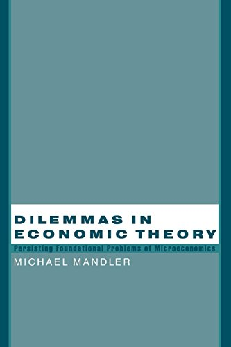 Dilemmas in Economic Theory: Persisting Foundational Problems of Microeconomics