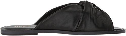 Sandalo Scorrevole Alame Sessame In Pelle Nera