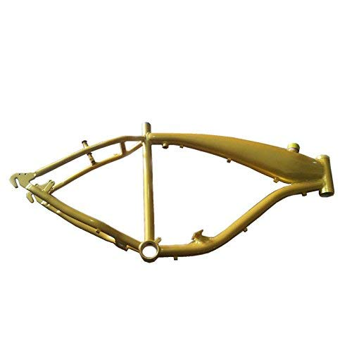 dolphin1986 Reinforced Bicycle Gas Frame with Gas Tank Built in 2.4L Frame Black Color-Gas Motorized Bicycle