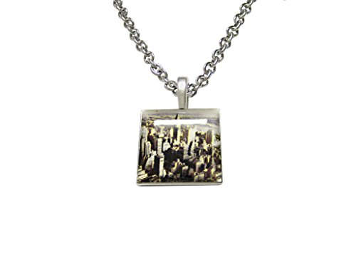 New York City Skyline Pendant Necklace