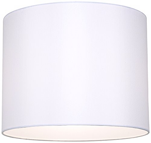 White hardback drum lamp shade 14x14x11 spider lampshades white hardback drum lamp shade 14x14x11 spider lampshades amazon mozeypictures Image collections