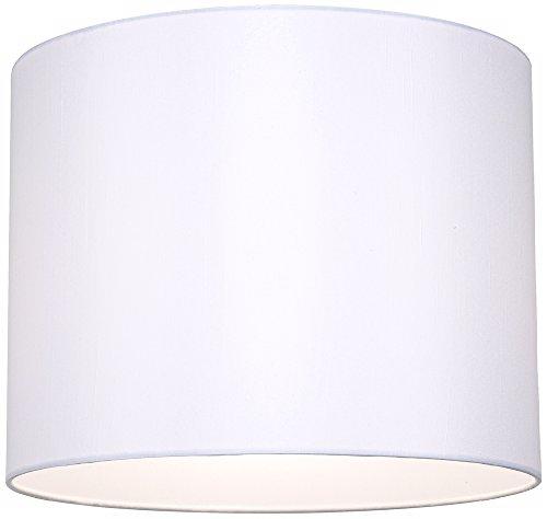 white hardback drum lamp shade 14x14x11 spider lampshades amazoncom