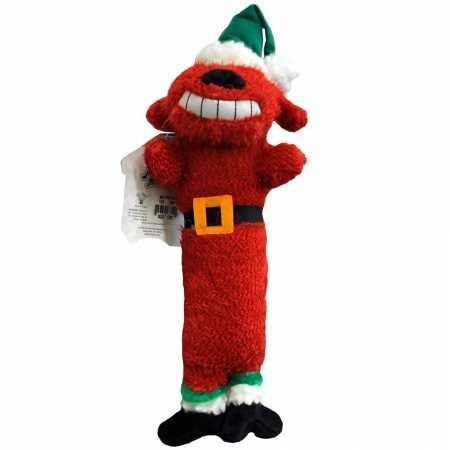 Multipet 18 Inch Santa Loofa Dog Toy - Part #: 17813