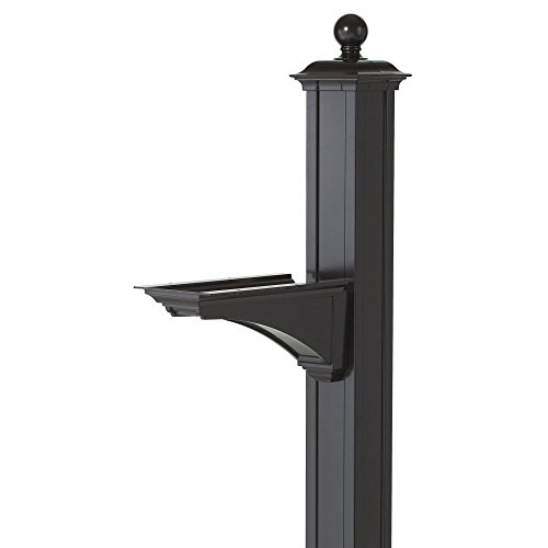 Lamp Balmoral (Balmoral Deluxe Post and Bracket with Finial in Black)