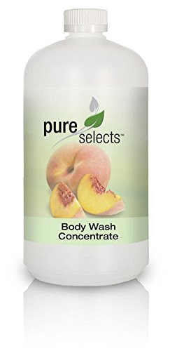 Pure Selects Fragrance & Dye Free Body Wash Concentrate • 1 Quart makes a Gallon of Body Wash • HYPOALLERGENIC • Hydrating, Rich & Refreshing • ALL NATURAL ()
