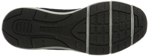 Geox Dynamic B, Scarpe da Ginnastica Basse Uomo Blu (Navyc4002)