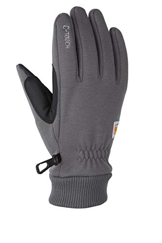 Carhartt Men's C-Touch, Carbon Heather, Large (Winter Gloves Cold)