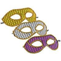 Xbox 360 Rock Skin (SSF Silver Mardi Gras Sequin Eye Masks)
