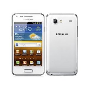 Samsung Galaxy S Advance I9070 3G 8GB Android Smart Phone (GSM Factory Unlocked) - Global 3G Support, Dual Core CPU, Dual Cameras - White - International Version No Warranty