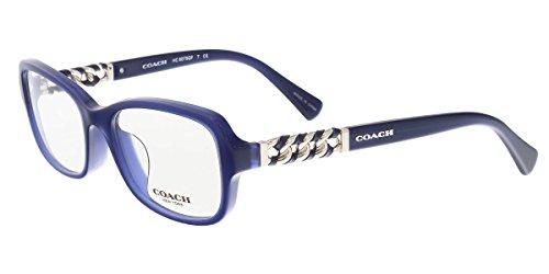 COACH Eyeglasses HC 6075QF 5358 Navy - Blue Coach Eyeglass Frames