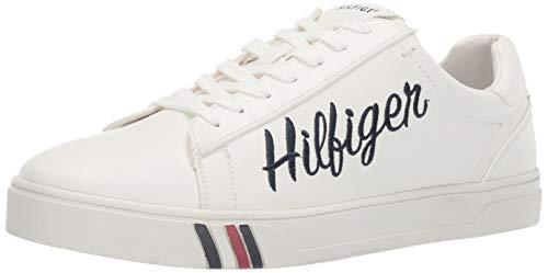 Tommy Hilfiger Men's Jason Sneaker White/Multi 10 Medium US