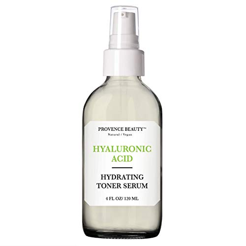 Provence Beauty | Hydrating Hyaluronic Acid Toner Serum For Face + Setting Spray | Enhanced with Green Tea & Aloe Vera | 4 FL OZ