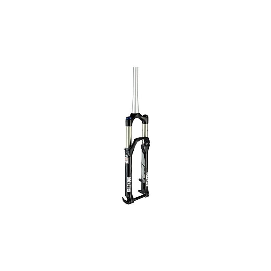 RockShox Maxle Lite Tapered Steerer Crown Adjust Solo 150mm Air Fork, Black, 26 Inch