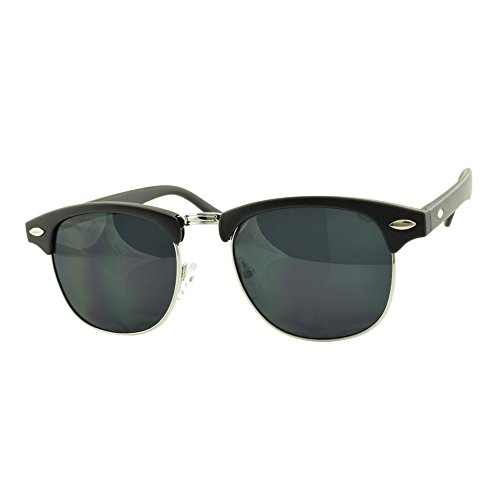 ROXX- Classic Horn Rimmed Festival Hobo Chic Men Women - Mirrors Sale Sunglasses And Smoke