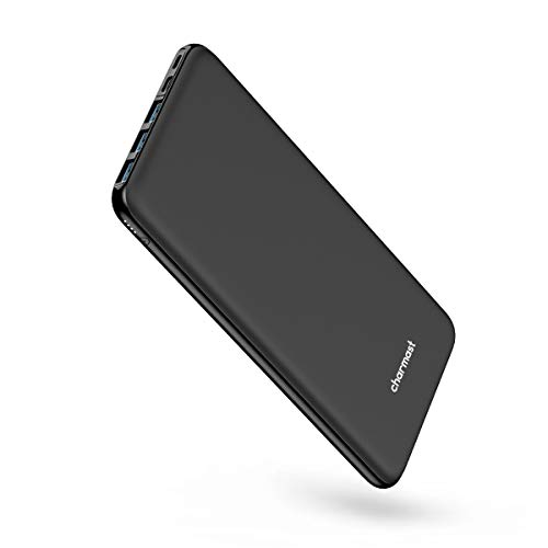 Portable Charger Power Bank 26800mAh Huge Capacity 5V 3A High Speed USB C External Battery Pack with 4 Outputs, Ultra Slim Compact Backup Battery Compatible with MacBook iPhone 11 Samsung Pixel-Black