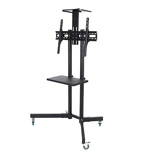 Wal front TV Mount,Mobile TV Cart Adjustable Stand Mount for 32-65 Inch LCD/LED Flat Panel Screen with Wheels (1203911) by Wal front (Image #1)