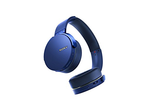 Sony XB950B1 Extra Bass Wireless Headphones with App Control, Blue