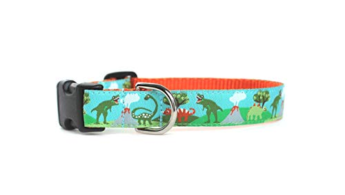 Dinosaur Dog Collar by You Had Me at Woof