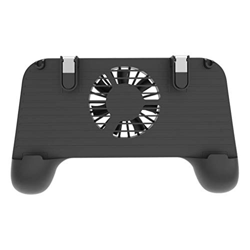Sonmer Gamepad Shoot Aim Trigger Phone Cooling 4-in-1 Mobile Game Controller For PUBG