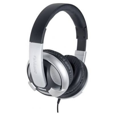 - Oblanc OG-AUD63044 U.F.O. Around-Ear Audio Headphones with Invisible In-line Microphone SILVER