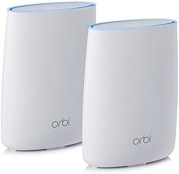 2-Pack Netgear Orbi RBK50 Tri-Band Home WiFi System