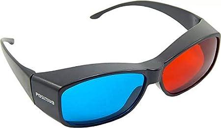 ea5f2e414c5c4 Óculos 3d Ultra Resistente Ótima Qualidade Red Cyan  Amazon.com.br   Informática