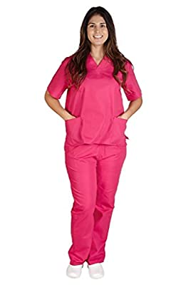M&M SCRUBS Women Scrub Set Medical Scrub Top and Pants