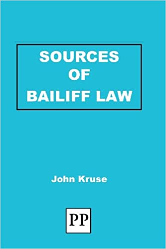 Sources of Bailiff Law