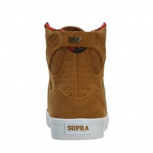 SUPRA Shoes SKYTOP-BROWN-YELLOW/WHITE Marrón - marrón