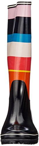 navy Donna Venise Multicolore bayadere Aigle 001 Print Stivaletti qHPZw