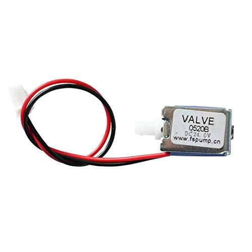 Quickun 24V Mini Electric Solenoid Valve Pneumatic Normally Closed Solenoid Exhaust Drain Valve 2 Position 2 Way