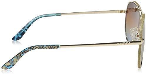 Gold Oro Guess Unisex Adults/' GU7555 33F 59 Sunglasses