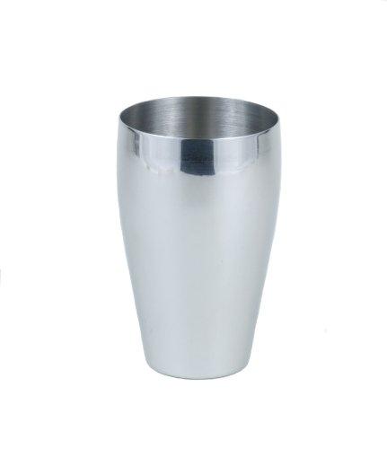 stainlesslux 77334 4 pc brilliant stainless steel drinking glass tumbler pub ebay. Black Bedroom Furniture Sets. Home Design Ideas
