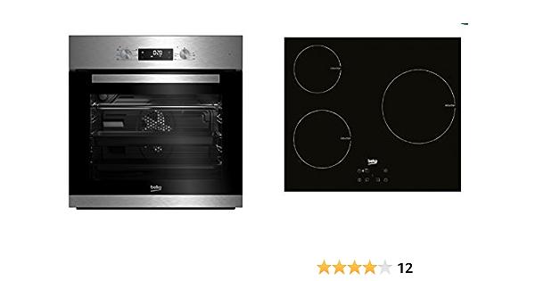 Conjunto de Horno multifunción + Placa de inducción Beko BSE22341X: 372.52: Amazon.es: Grandes electrodomésticos