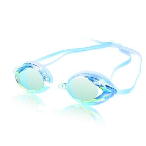 speedo-womens-vanquisher-mirrored-swim-goggle-blue