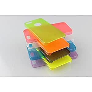 Zaki Plastic Made with Streak Back Cover for iPhone5/5s(Assorted Colors) , Green