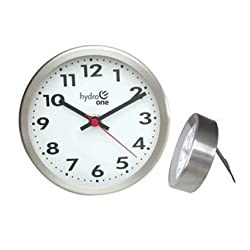 Ruda Overseas 329 Metal Wall And Desk Clock