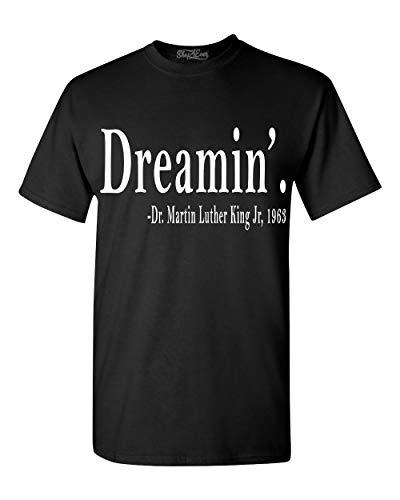 Shop4Ever Dreamin'. Martin Luther King Jr, 1963 T-Shirt XXXX-Large Black 0